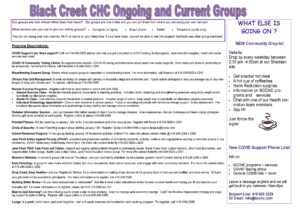 BCCHC February Calendar Program Descriptions