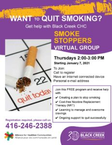 Smoke Stoppers Flyer Winter 2021